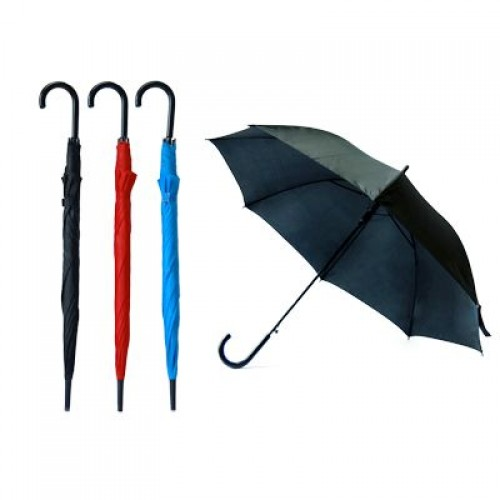 24inch J-handle Polyester Umbrella
