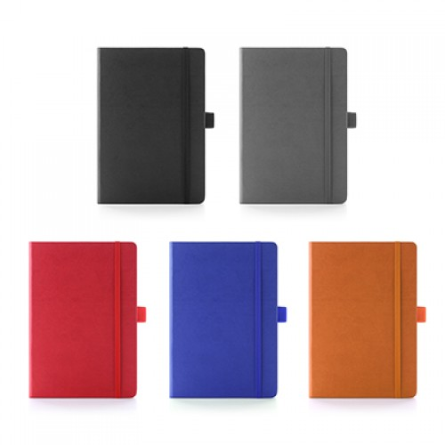 A5-Size PU Leather Muller Notebook
