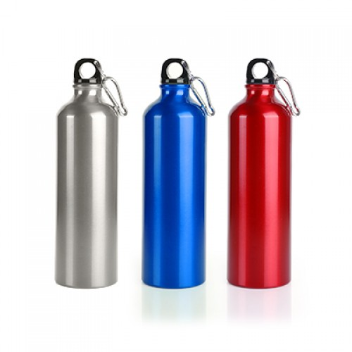 Aluminium Sport Bottle With Carabiner