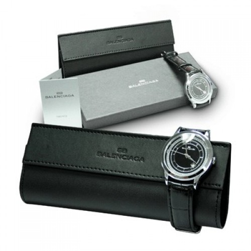 Balenciaga Classic Watch for Men (Black Strap)