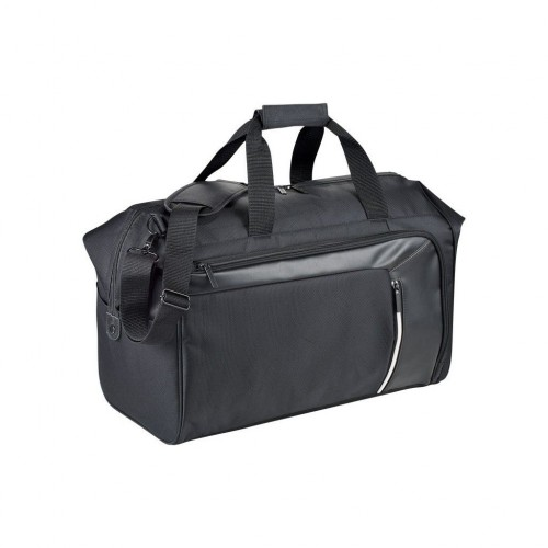Black RFID Travel Duffel Bag