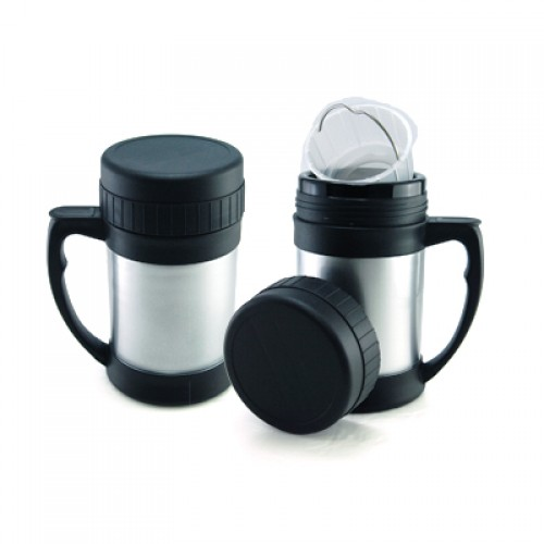 Black&Silver Easycarry Food Warmer