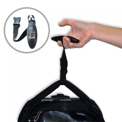 Classic Black Portable Handheld Luggage Weighing Scale