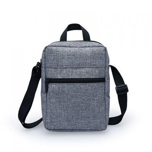 Modern Grey Sporty-look Cycling Sling Bag