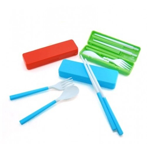 PP-Material Travel Cutlery Set
