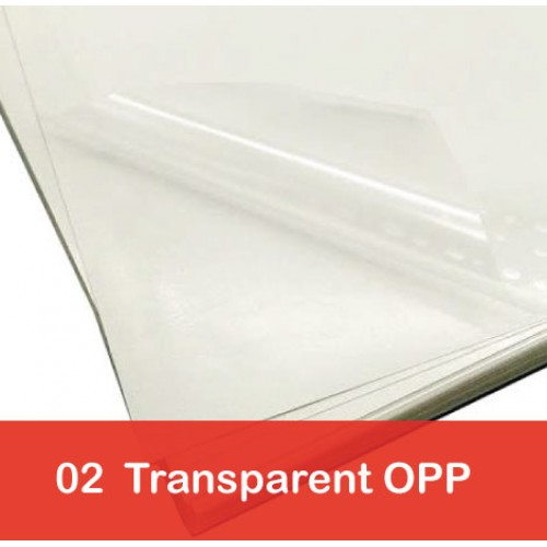 Transparent OPP Stickers Printing Services Singapore No GST
