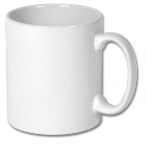 Graded AAA White Ceramic Sublimation Photo Mug Printing