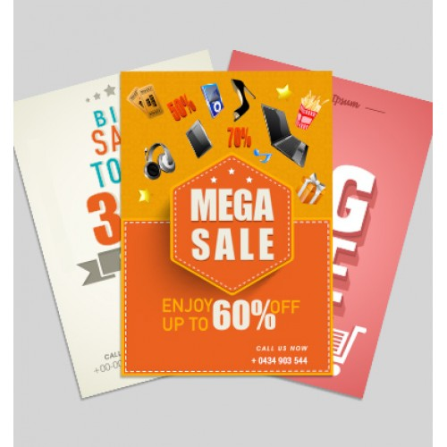 A4 Brochures Printing Service, Cheap Flyers Printing Services Singapore